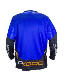 OXDOG GATE GOALIE SHIRT blue XS (padding) - Brankářský dres