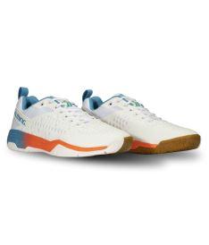 SALMING Eagle Shoe Men White/RaceBlue 9 UK - Schuhe