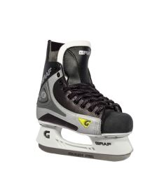 GRAF SKATES SUPER 101 black/silver - 34** - Skates
