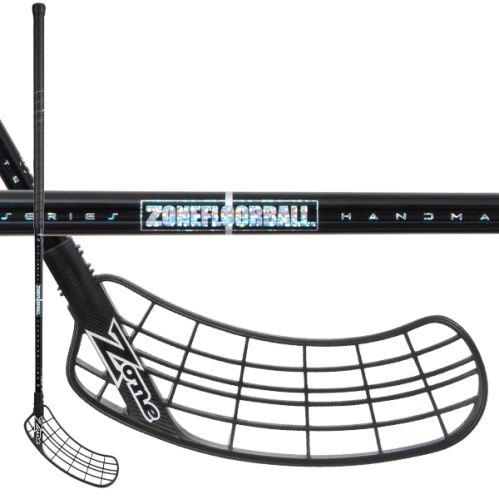 ZONE STICK SUPREME AIR SL 28 black/hologram 100cm R - florbalová hůl