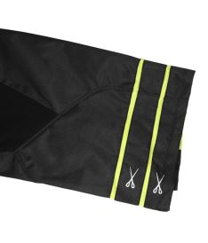 Brankářské florbalové kalhoty EXEL G1 GOALIE PANTS black/yellow - Brankářské kalhoty