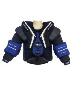 VAUGHN VELOCITY V9 PRO CHEST & ARM PROTECTOR black/blue/white senior - M