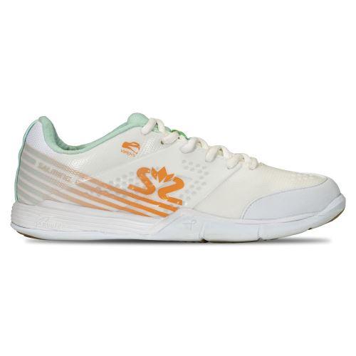 SALMING Viper 5 Shoe Women White/PaleBlue 8 UK - Obuv