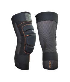 Floorball goalie knee protection UNIHOC Goalie Shinguard FLOW black pair