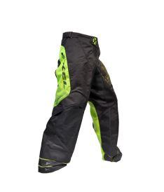 Brankářské florbalové kalhoty EXEL G1 GOALIE PANTS black/yellow  L* - Brankářské kalhoty