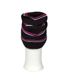 OXDOG JOY WINTER HAT black/pink/white - S/M - Caps and hats