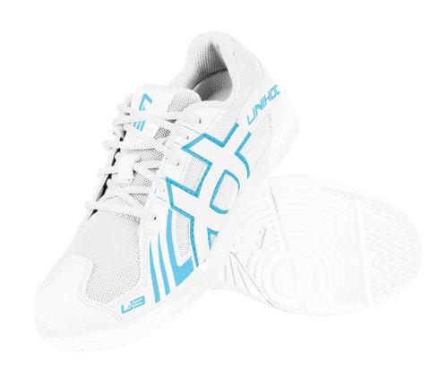 UNIHOC Shoe U3 Junior Unisex white/blue - Obuv