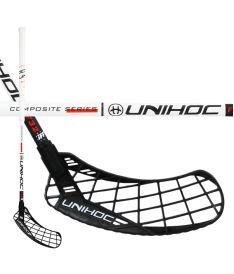 Floorballschläger UNIHOC STICK EPIC Composite 32 white/black