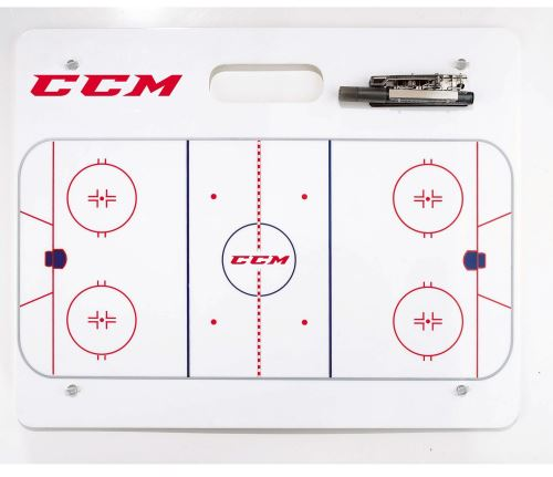 CCM TACTIC BOARD TABULE 51x41 cm - For trainers and referee