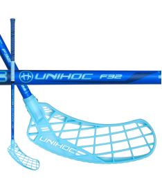 UNIHOC STICK EPIC 32 blue 87cm R-17