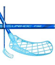 UNIHOC STICK EPIC 32 blue 92cm R-17