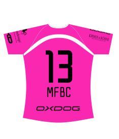 FREEZ JERSEY SUBLI LADIES - MFBC HOME - pink - XXS