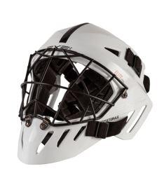 Unihockey Torwart Helme EXEL ELITE PRO HELMET senior white