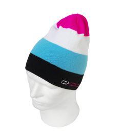 Čepice OXDOG JOY-2 WINTER HAT turquoise/pink S/M - Kšiltovky a čepice
