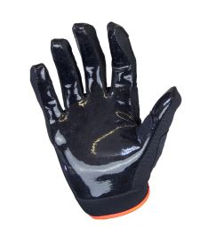 EXEL S100 GOALIE GLOVES SHORT black/orange - Gloves