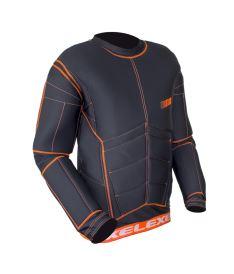 EXEL S100 PROTECTION SHIRT black/orange XXL - Chrániče a vesty