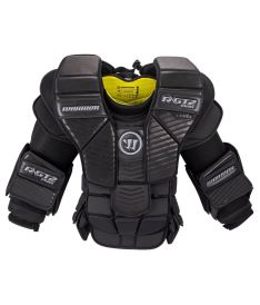 WARRIOR RITUAL GT2 PRO CHEST & ARMS  black senior - XL
