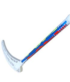 Floorball stick EXEL RIFLE LIGHT 2.9 blue 98 ROUND SB R '15 - Floorball stick for adults