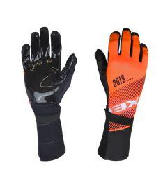 EXEL S100 GOALIE GLOVES LONG orange/black 12/XXXL - Brankařské rukavice