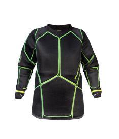Floorball goalie vest EXEL G1 PROTECTION SHIRT black