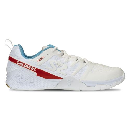 SALMING Kobra 3 Shoe Men White/RaceBlue 12 UK - Obuv