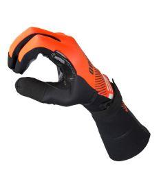 EXEL S100 GOALIE GLOVES LONG orange/black 8/M - Brankařské rukavice
