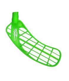 Floorball blade SALMING Hawk Blade Bio Power green