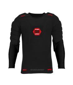 Schutzwesten für Floorballgoalies ZONE GOALIE T-SHIRT PRO longsleeve black/red XL/XXL