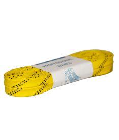 GRAF LACES HOCKEY WAXED yellow 280cm