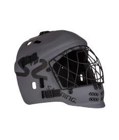 Floorball goalie mask SALMING Core Helmet JR Dark Grey