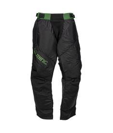 SALMING Goalie Legend Pants 2.0 Black/Camping Green XL
