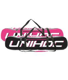 Vak až na 20 florbalek  UNIHOC TOOLBAG ULTRA dual case neon CERISE (20 STICKs)