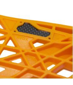 OXDOG AVOX CARBON MBC orange R - sundaná - florbalová čepel