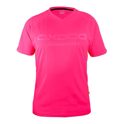 Dres OXDOG ATLANTA TRAINING SHIRT pink XXL - Trička