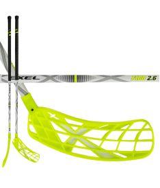 Florbalová hokejka EXEL F100 WHITE 2.6 103 ROUND SB