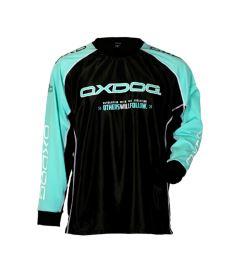 Floorball goalie jersey OXDOG TOUR GOALIE SHIRT black/tiff 150/160