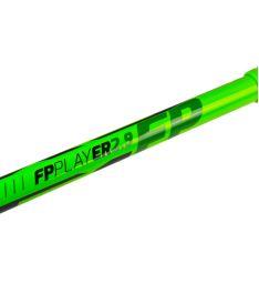 EXEL FPplayER 2.9 green 98 ROUND SB L ´16  - florbalová hůl