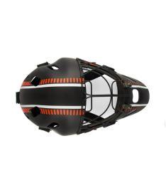 EXEL S80 HELMET senior/junior black/orange - Brankářské masky