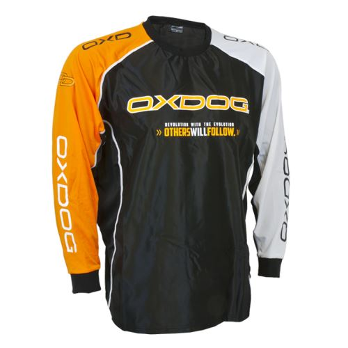 OXDOG TOUR GOALIE SHIRT BLACK/OR, no padding XXL - Pullover