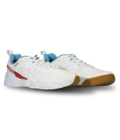 SALMING Kobra 3 Shoe Men White/RaceBlue 11 UK - Obuv