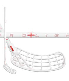 Floorball stick ZONE STICK MAKER PROLIGHT 27 white carbon