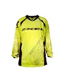Brankářský florbalový dres EXEL G1 GOALIE JERSEY #1 yellow/black
