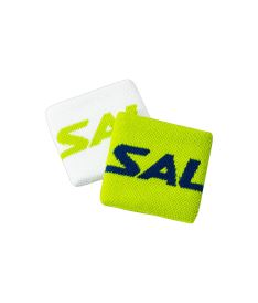 SALMING Wristband Short 2-pack Green/White