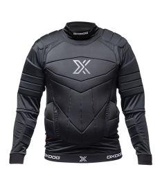 Floorball goalie vest OXDOG XGUARD PROTECTION SHIRTS BLACK  150/160