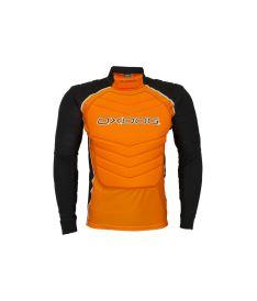 OXDOG TOUR GOALIE VEST ORANGE  S - Pads and vests
