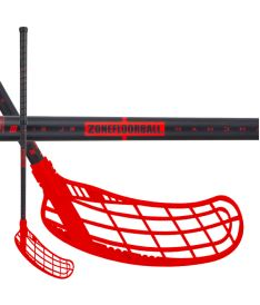 ZONE STICK FORCE AIR JR 35 black/red