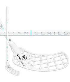 Floorball stick UNIHOC STICK ICONIC TITAN SUPERSKIN MAX 29 white