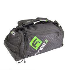 Sportovní taška FREEZ Z-180 PLAYER BAG BLACK/GREEN