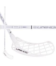 Floorball stick UNIHOC STICK EPIC Top Light II 26 white/silver 96cm