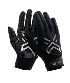 Floorball goalie gloves OXDOG XGUARD PRO GOALIE GLOVE SILICON Black